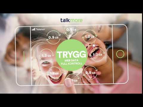 Talkmore - Trygg: abonnement for barn og ungdom