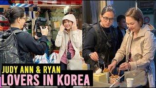 Nag FOODTRIP si JUDY ANN at RYAN sa KOREA
