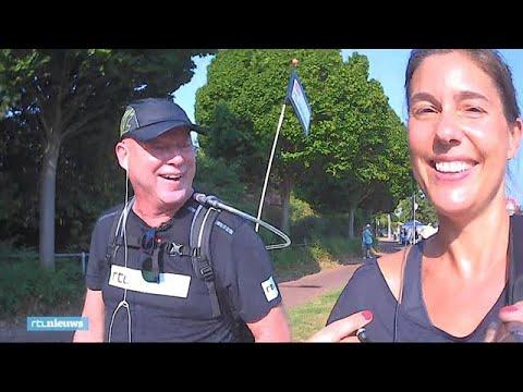 Frits Wester en Floor Bremer lopen de Vierdaagse: 'Gezellig, maar jammer dat je zo ver moet lopen!'