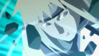 Naruto Unreleased - Break down | MINATO vs Tobi [HD]