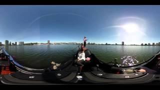Take a gondola ride on Lake Merritt, 360 Video | Bay Curious, KQED News