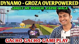 DYNAMO - GROZA OVERPOWERED | PUBG MOBILE | RED ROCK