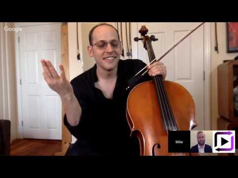 ArtistWorks Live: Talking Cello with Mike Block