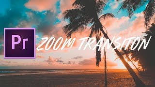 FREE Sam Kolder Smooth Zoom Transition Presets | Adobe Premiere Pro CC