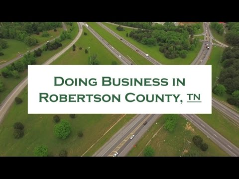 Doing Business in Robertson County, TN