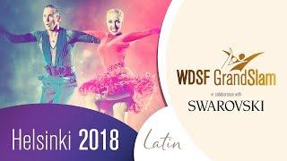 Kuznetsov - Tabakova, RUS | 2018 GS LAT Helsinki | R1 PD | DanceSport Total