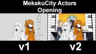 Mekaku City Actors OP v1/v2