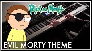 Rick and Morty - Evil Morty Theme (For The Damaged Coda) Piano Style Cover