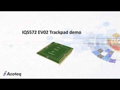 Azoteq's IQS572 EV02 Trackpad