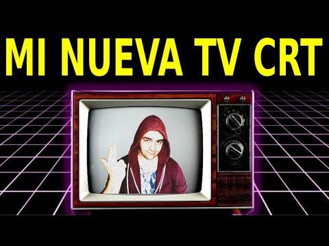 Mi Nuevo Televisor CRT || retro - rgb - tele de tubo - reciclar - tv
