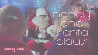 Visiting Santa Claus part 2 - Christmas time for a baby