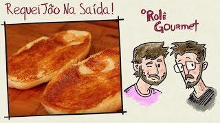 Pão com Requeijão Na Saída!