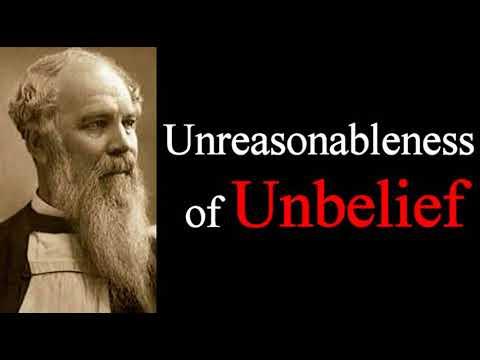 Jesus Exposes the Unreasonableness of Unbelief -  J. C. Ryle Sermons