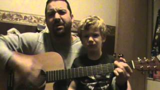 """Alone"" Cover Originally by DownFace... Silly faces by my son Jake."