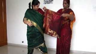 How to Tie Madisar Iyer Saree (www.mamamami.in/shop) width=