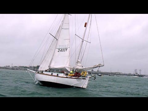 What's in a name? DHL helps adventurer Susie Goodall refit her boat.