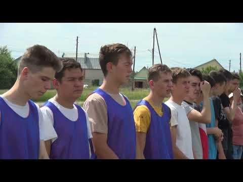Футбол среди учащихся