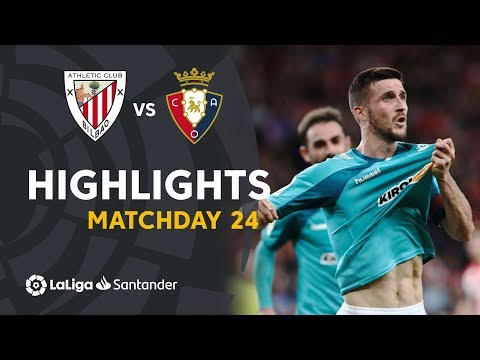 Highlights Athletic Club vs CA Osasuna (0-1)