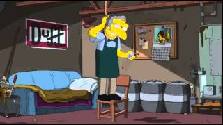 The Simpsons - Moe Attempts Suicide