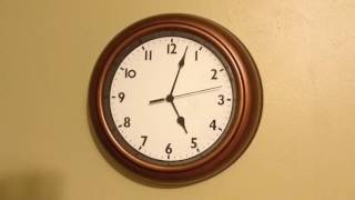 24 hour timelapse of an Analog Clock (with music)