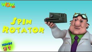 Spin Rotator   Motu Patlu In Hindi WITH ENGLISH, SPANISH & FRENCH SUBTITLES