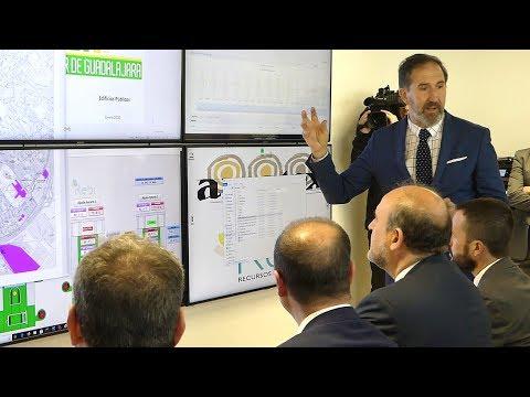 REBI SLU: Martínez Guijarro visita la Red de Calor de Guadalajara en Guadalajara Media Noticias