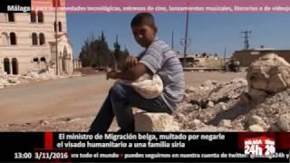 Málaga 24h TV El ministro de Migración belga, multado por negar el visado humanitario