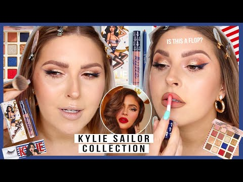 """no ones talking about this"""" ? KYLIE COSMETICS sailor collection!"""