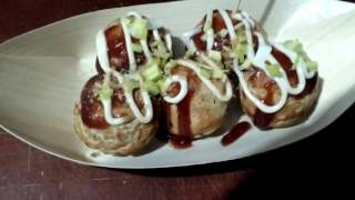 Takoyaki yukishiro comida Japonesa