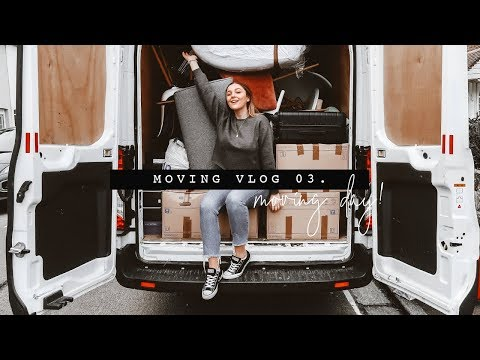 MOVING DAY + AN IKEA HAUL   MOVING VLOG 03.   I Covet Thee