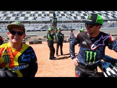 2018 Daytona Supercross | Press Day Fun | TransWorld Motocross
