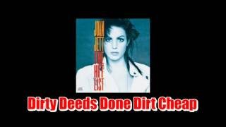 Joan Jett / Dirty Deeds  Done Dirt Cheap (cover)