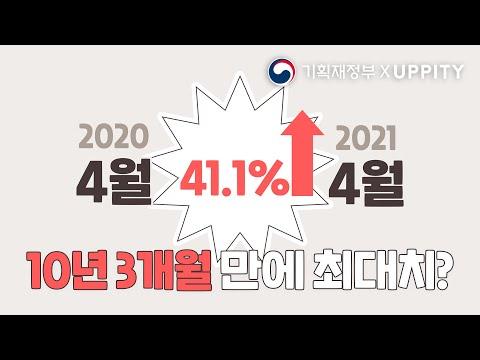 [기획재정부XUPPITY] 10년만에 최대치?! 놀라운 수출 성장세 ㅣ기획재정부