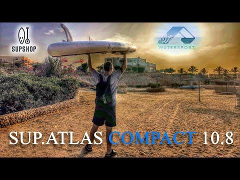 SUP-доска ATLAS COMPACT 10.8 полный тест драйв (4k) photo