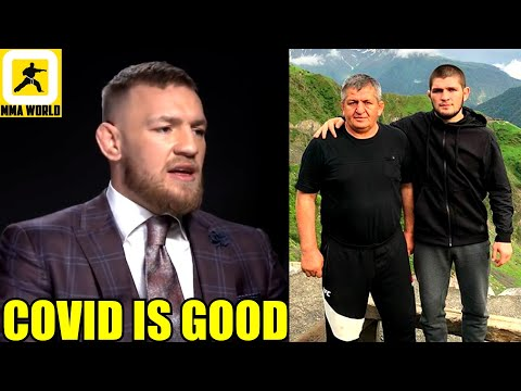Conor McGregor goes berserk again! taunts Khabib on his deceased father and insults Poirier's wife