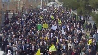 Diyarbakır'da Halepçe katliamı protestosu - BBC TÜRKÇE