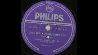 Jamaica Johnny and his Milagro Boys -- Last Train to St Fernando -- 78 rpm Calypso