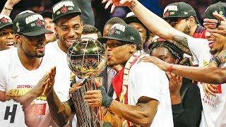 Toronto Raptors Full Trophy Presentation with Interviews   June 13, 2019 NBA Finals