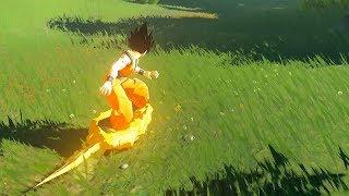 Zelda: Breath of the Wild - Goku meets Hyrule