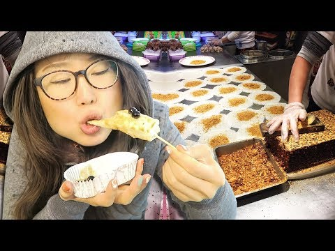 Taiwanese Street Food at Jiufen ft. Ice Cream Burritos