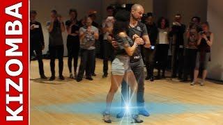 Kizomba dance to Não Me Larga - Loony Johnson by Mattias and Kauo at THLX 2017