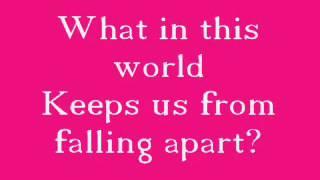 Celine Dion I Drove all night lyrics