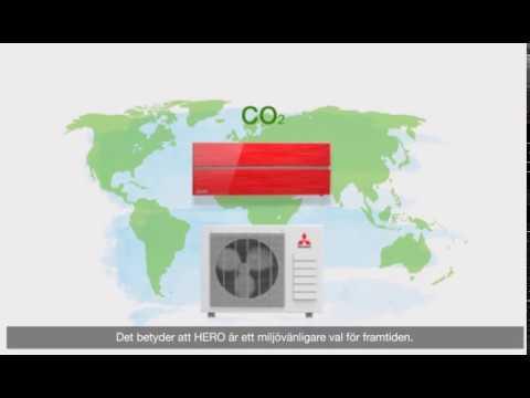 Miljövänligare med R32-köldmedium