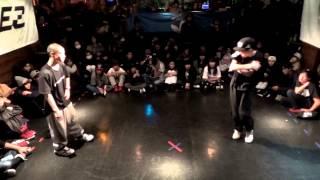 りょーま(DANCE GANBA!!!) vs イッキ(DANCE GAMBA) DANCE@LIVE 2014 KIDS KYUSHU CLIMAX【FINAL EXTRA】