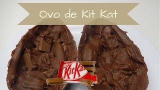 Como fazer ovo de Páscoa de Kit Kat.