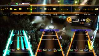 Dear Maria Count Me In - All Time Low Expert Full Band Guitar Hero 5