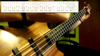 Primus - Master Of Puppets (Primus Version) - (Bass Cover) (Play Along Tabs In Video)