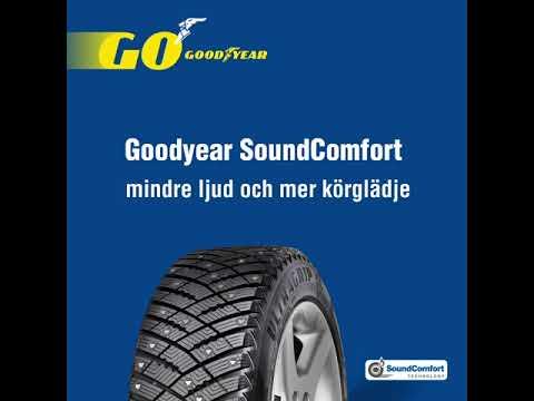 Mindre ljud och mer körglädje med Goodyears SoundComfort-teknologi!