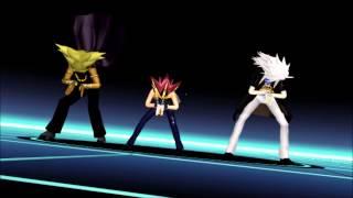 [MMD] Cyber Thunder Cider ~Yami Marik, Yami, and Yami Bakura~