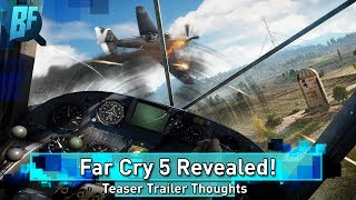 Far Cry 5 Teaser Trailer Revealed! (Not The Live Action Ones)